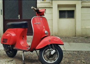 Motorino rijden in Rome