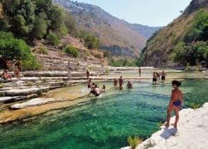 Zwemmen in Italië