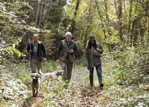 truffels zoeken in Toscane