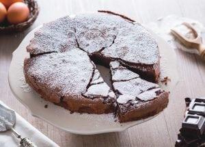 italiaanse chocoladetaart