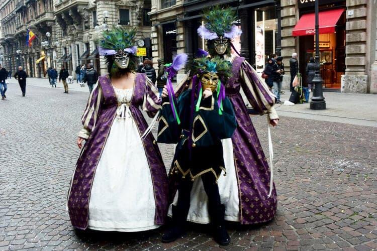 carnaval in milaan