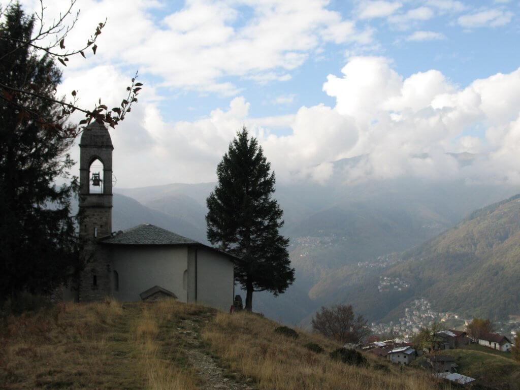 het kerkje van Malè